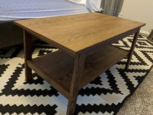 IKEA Dark Wood Coffee Table! for Sale in Littleton, CO