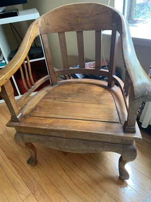 Teak chair and table set for Sale in Springfield, VA