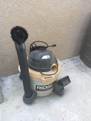 Rigid 6 gallon 2.5 HP Shop Vacuum for Sale in Los Angeles, CA