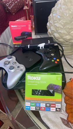 Roku premier + Roku Streaming Stick Apple Tv Xbox 360 for Sale in Bonita Springs,  FL