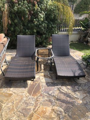 Patio Furniture 2 Chairs And Table Set for Sale in San Diego, CA