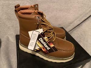 DieHard Steel Toe Boots (size 7) BRAND NEW for Sale in Santa Ana, CA