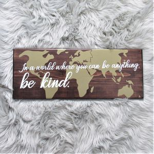 Wood Sign - Home Decor for Sale in Nottingham, MD