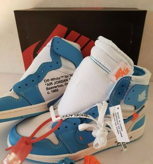 "OFF-WHITE X NIKE AIR JORDAN 1 UNIVERSITY BLUE ""UNC"" for Sale in New York, NY"