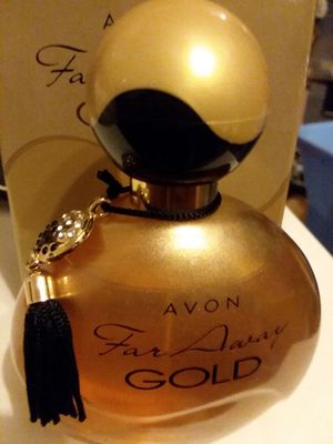 Avon faraway gold fragrance for Sale in St. Louis, MO