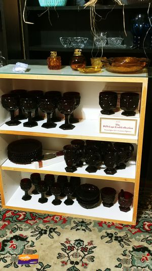Vintage Avon Red Glass Collection for Sale in Portland, OR