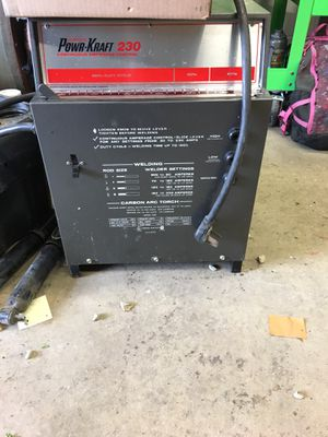Ward 230 welder and carbon brazer for Sale in Painesville, OH