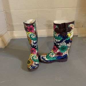 Paisley Rain Boots for Sale in Morton, IL
