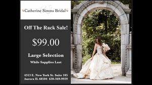 Wedding dress sale for Sale in Naperville, IL