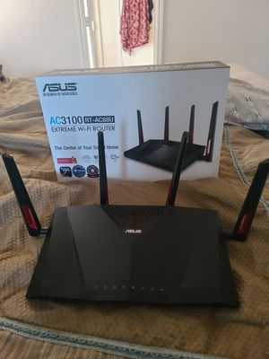 Asus Gaming Router EXTENDED WARRANTY INCLUDED for Sale in Converse, TX