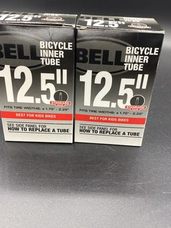 "2x Bell Bicycle Inner Tube 12.5"" x 1.75 - 2.25 Tire Kids Bike 035011889337 for Sale in Peoria,  IL"