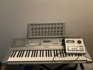 Yamaha keyboard & boss Dr-3 for Sale in Beaumont, TX
