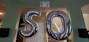Huge 50 mylar balloons for Sale in Sherwood, OR