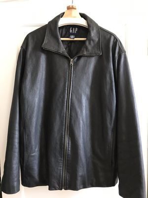 Gap Mens Leather Jacket for Sale in Washington, DC