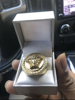 Versace Men's Ring for Sale in Oxon Hill, MD