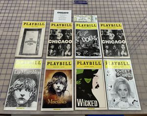 Broadway Show Playbill Lot for Sale in Alpha, NJ