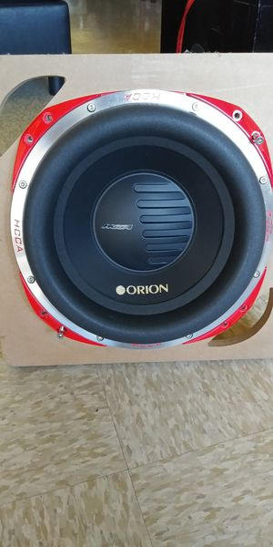 """12"""" ORION HCCA 2500RMS 👉$300 FIRM FIRM...FIRMES DON'T ASK FOR LESS NO AGARRO OFERTAS👈 for Sale in Los Angeles, CA"""