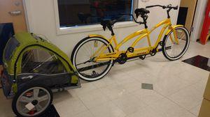 Tandum bike and trailer for Sale in Glendale, AZ
