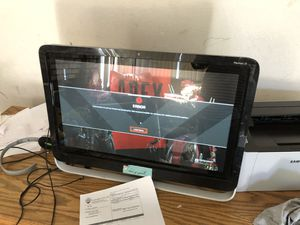 Hp Pavillion 21 all in one touch screen for Sale in Victorville, CA