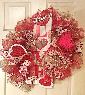 Valentine Heart Wreath for Sale in Inwood, WV