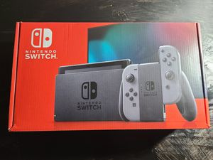 Nintendo Switch V2 32GB Gray Console with grey Joy-cons Brand new This is the Updated Version 2 for Sale in Smyrna, GA