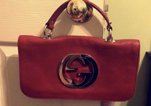 Vintage Gucci Leather Blondie Red Flap for Sale in Chicago, IL