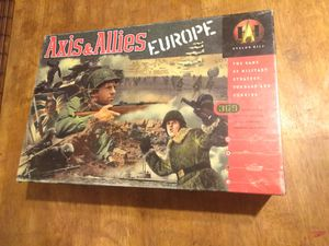 Axis & Allies Europe Board Game 1999 Hasbro 41313 Strategy Game The game is in really good condition. for Sale in Rapid City, SD