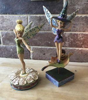 Disney tinker bell figurines for Sale in Oakley, CA