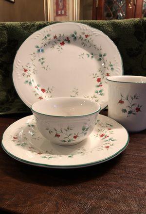 Pfaltzgraff 32 piece Winterberry dinnerware set for Sale in Potomac Falls, VA