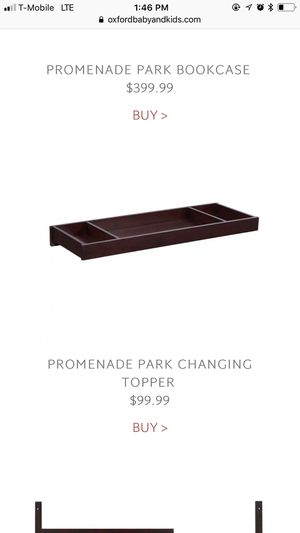Oxford Changing Table / Topper for Sale in East Compton, CA