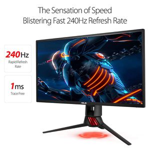 ASUS ROG Swift PG258Q 24.5in Full HD 1ms 240Hz DP HDMI Eye Care G-SYNC Esports Gaming Monitor for Sale in Frederick, MD