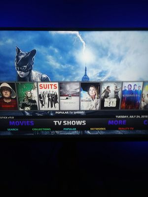 FIRESTICK 18.2 DOWNLOADED OR UPDATED for Sale in Pittsburgh, PA