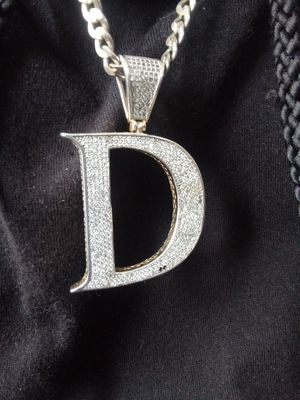 Iced out letter D charm for Sale in Detroit, MI