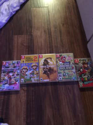 5!!!!! Nintendo switch games for Sale in Alexandria, VA