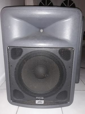 Peavey pr15 good condition $150 each 400watts passive. for Sale in Carol City, FL