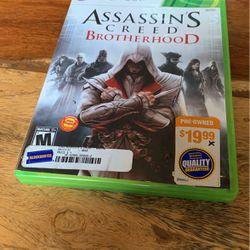 Assassin's creed brotherhood Xbox 360 for Sale in Kent,  WA