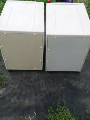 Heavy duty Filing cabinets on wheels for Sale in Cleveland, OH