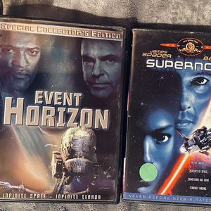 2 DISC SCI-FI DVD MOVIE SET: Includes Event Horizon Special Collector's Edition & Supernova for Sale in Mansfield, TX
