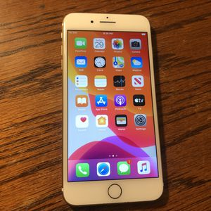 iPhone 7 Plus Carrier Unlocked 32GB Gold/White iCloud Clear Clean IMEI for Sale in Fresno, CA