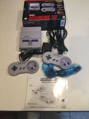 Super Nintendo mini modded with 1200 games for Sale in South Lyon, MI