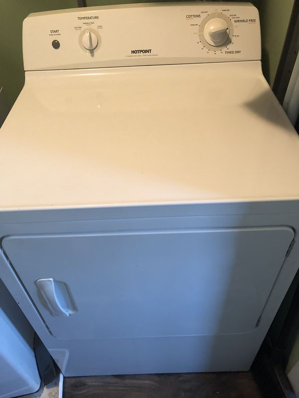 LG washer and Hotpoint dryer! With user Manuals!