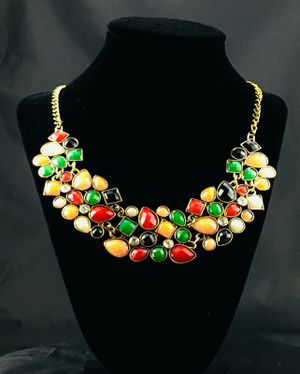 Colorful Shapes Necklace for Sale in Cerritos, CA