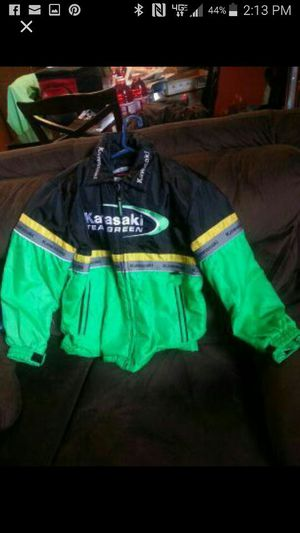 Kawasaki motorcycle jacket for Sale in Parkland, WA
