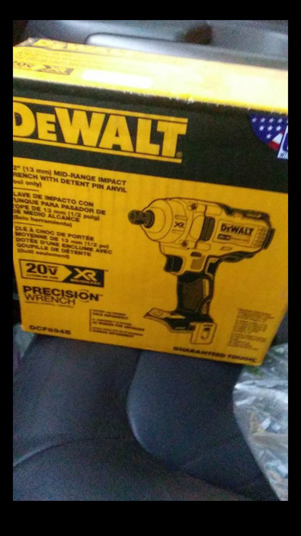 Brand new DeWalt 1/2 in. Impact Wrench (tool only)