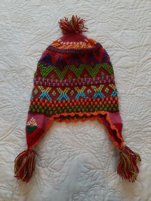 Earflap Peruvian Beanie Hat Chullo for Sale in Torrance, CA