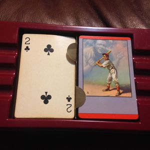 1953 Baseball Babe Ruth HOF Artist Edition vTg Playing Cards 52+Jokers + Box 1st Edition Cards(1st Edition has no writing on front of cards)This grea for Sale in Pembroke Pines, FL