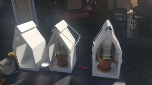 3 Lanterns candle/plant holders $10 each for Sale in Federal Way, WA