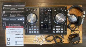 Traktor Kontrol S2 and Behringer HPX2000 DJ headphones for Sale in North Chesterfield, VA