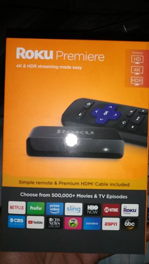 Roku Premiere Streaming Stick for Sale in Portsmouth, VA