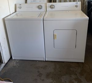 Washer machine and dryer electric set two months warranty delivery and installation free for Sale in Phoenix, AZ